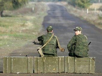 Российские миротворцы в Южной Осетии. Фото ©AFP