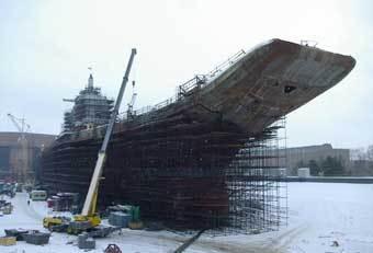 """Авианосец """"Адмирал Горшков"""". Фото с сайта www.4turista.ru"""