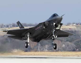 F-35. Фото с сайта www.jsf.mil