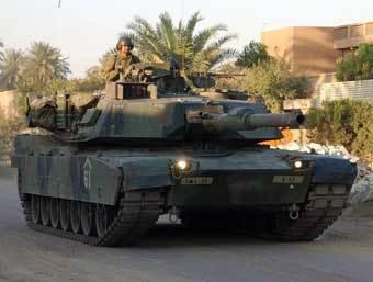 Танк M1 Abrams. Фото с сайта www.militaryfactory.com