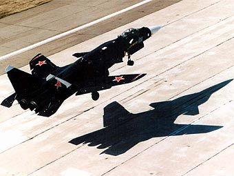 Перспективный истребитель Су-47 Беркут. Фото с сайта testpilot.ru