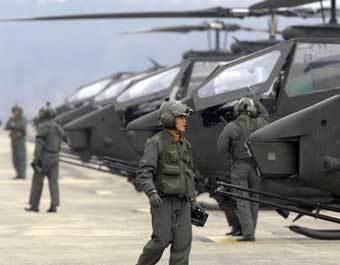 Пилоты ВВС Южной Кореи. Фото с сайта daylife.com