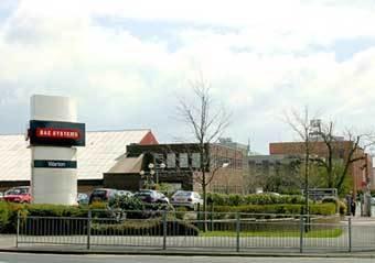 Здание компании BAE Systems. Фото с сайта www.lancashire.gov.uk