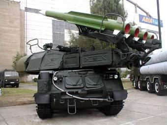 """ЗРК """"Бук-М1"""". Фото Павла Сергеева с сайта pvo.guns.ru"""