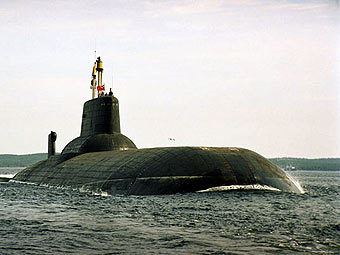 "АПЛ ""Дмитрий Донской"". Фото с сайта www.sevmash.ru"