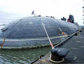 """АПЛ класса """"Акула"""". Фото с сайта www.liveinternet.ru"""