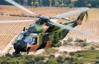 Многоцелевой вертолет MRH-90. Фото с сайта www.defenseindustrydaily.com