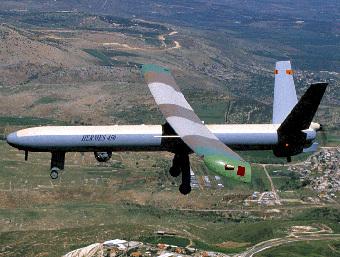 БПЛА Hermes 450. Фото с сайта www.elbit.co.il