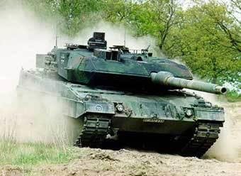 Танк Leopard. Фото с сайта www.military-today.com