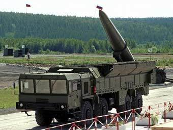 """Ракетный комплекс """"Искандер"""". Архивное фото ©AFP"""