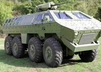 "БТР ""Лазарь"". Фото с сайта www.military-today.com"
