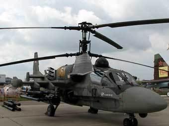 "Вертолет Ка-52 ""Аллигатор"". Фото с сайта revolver.ru"
