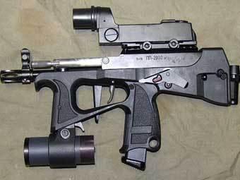 Пистолет-пулемет ПП-2000. Фото с сайта guns.ru