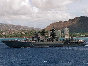 """БПК """"Адмирал Пантелеев"""". Фото с сайта dodmedia.osd.mil"""