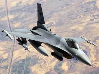 Истребитель F-16. Фото Lockheed Martin.