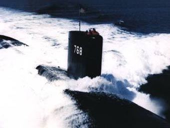 "Подводная лодка ВМС США ""Хартфорд"". Фото с сайта csg2.navy.mil"