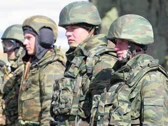 Военнослужащие сухопутных войск. Фото Минобороны РФ.