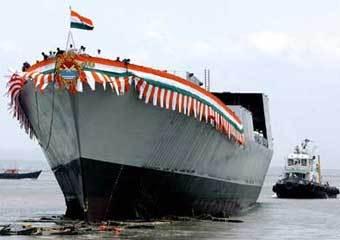 Фрегат класса Shivalik. Фото с сайта www.indiadefence.com