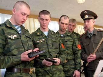 Занятия в войсковой части Московского военного округа. Фото пресс-службы Минобороны РФ
