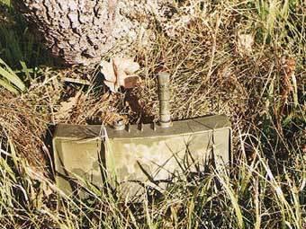 Противопехотная мина типа Claymore. Фото с сайта www.solcomhouse.com