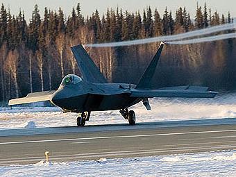 Истребитель F-22 Raptor. Фото Lockheed Martin.