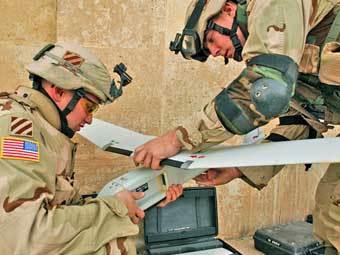 БПЛА Raven. Фото армии США.