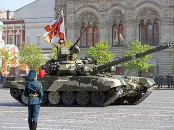 Парад Победы 9 мая 2009 года. Фото Александра Котомина, Lenta.ru