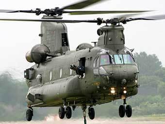 Вертолет Chinook. Фото с сайта www.enemyforces.ne