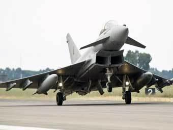Eurofighter Typhoon. Фото с сайта www.eurofighter.com