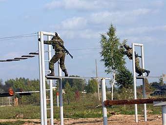 Учебный полигон ВДВ. Фото с сайта mil.ru