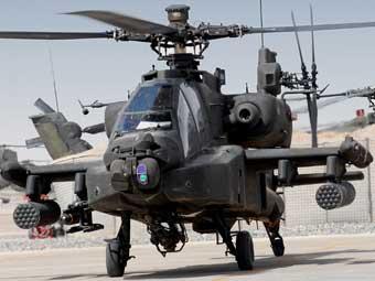 Вертолет Apache. Фото НАТО.