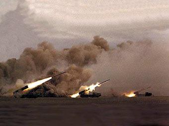 Учения Сухопутных войск. Фото пресс-службы Минобороны РФ