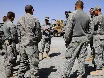 Американские военнослужащие. Фото армии США.