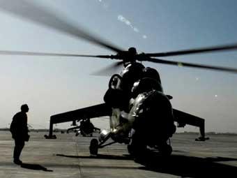 Ми-35 ВВС Афганистана. Фото ВВС США.