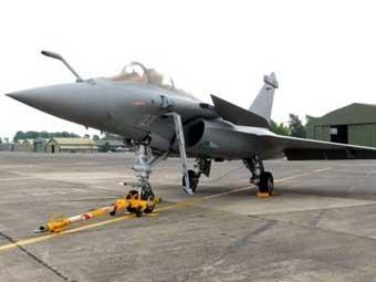 Rafale F3. Фото ВМС Франции.