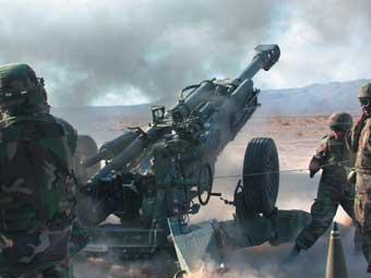 Гаубица M777. Фото BAE Systems.