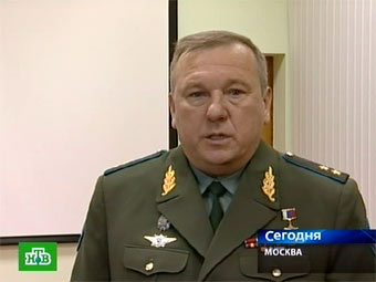 Владимир Шаманов. Кадр телеканала НТВ