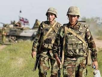 Грузинские военные. Фото с сайта www.armyrecognition.com