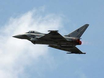 Eurofighter Typhoon. Фото Dmitry A. Mottl с сайта wikipedia.org
