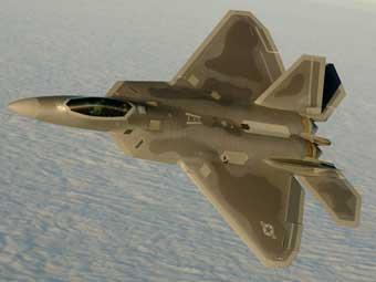 F-22 Raptor. Фото с сайта www.defenseindustrydaily.com