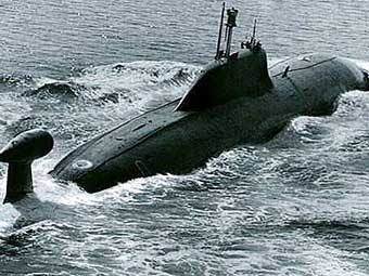 "АПЛ типа ""Щука-Б"". Фото с сайта submarine.id.ru"