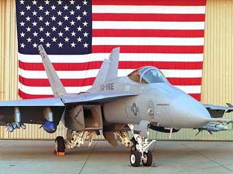 Истребитель F/A-18E. Фото Boeing.