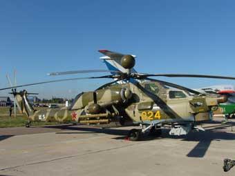 """Вертолет Ми-28Н """"Ночной охотник"""". Фото с сайта www.rusarmy.com"""