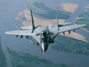 """Истребитель МиГ-29. Фото корпорации """"МиГ""""."""