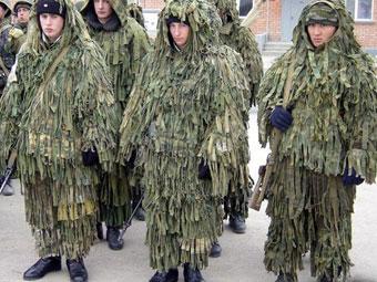 Военнослужащие разведподразделения Сухопутных войск. Фото Минобороны РФ.