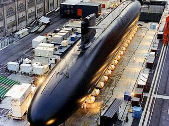 Субмарина проекта Le Triomphant. Фото с сайта www.linternaute.com