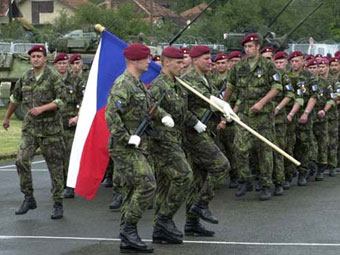 Чешские военнослужащие. Фото НАТО.