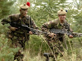 Британские территориалы. Фото с сайта www.militaryimages.net