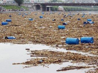 Потенциально загрязненные воды Сунгари достигли границ России