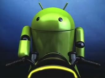 Кадр из ролика Google, посвященного Android 4.0